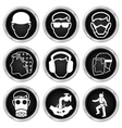 Health and Safety Icons vector image vector image