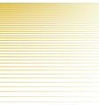 line halftone pattern in golden colors vector image