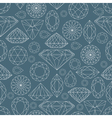 seamless diamond pattern 2 vector image vector image