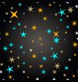 star seamless pattern star sky seamless vector image vector image