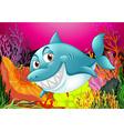 A big fish vector image vector image