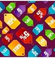 Color Sale Labels Background Pattern vector image