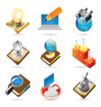 Icon concepts for science vector image vector image