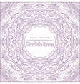 mandala for coloring with decorative elements vector image