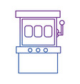 slot machine design vector image