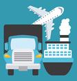 transportation concept vector image