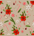 warm happy holiday pattern vector image