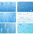 Water set vector image vector image