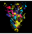 Abstract composithion vector image