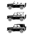 all road vehicle vector image vector image