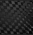 black abstract geometric squares background vector image vector image