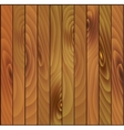 brown wooden planks background vector image