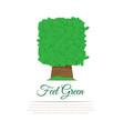 gardening service logo vector image vector image