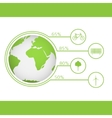 Green earth concept vector image vector image