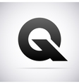 logo for letter Q Design template vector image