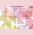 low poly abstract background vector image vector image