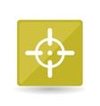 military icon design vector image vector image