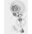 Pendulum concept vector image vector image