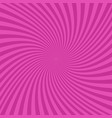 pink abstract spiral design background vector image vector image