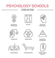 Psychology Icon vector image vector image