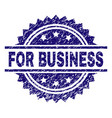 scratched textured for business stamp seal vector image
