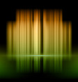abstract background with orange and green lights vector image vector image