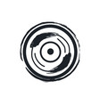 disk or vinil recorder rock symbol vector image vector image