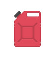 gasoline canister vector image vector image