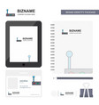 gear box business logo tab app diary pvc employee vector image vector image