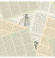 newspaper pattern seamless vector image