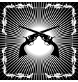 Antique revolvers vector image