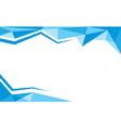 background trangle bleu vector image