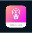 brand concept genuine idea logo mobile app button vector image