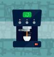 coffee expresso maker machine caffeine vector image