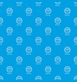water polo pattern seamless blue vector image vector image