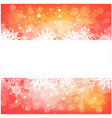 christmas snowflake background for card snowfall vector image