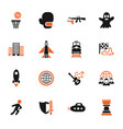 game genre icon set vector image vector image