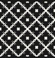 geometric seamless pattern elegant carved lattice vector image vector image