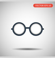 glasses icon eps 10 vector image vector image