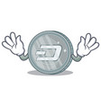 mocking dash coin character cartoon vector image vector image