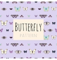 Samples of butterflies with space for text vector image vector image