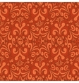 Seamless vintage red background vector image vector image