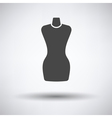 Tailor mannequin icon vector image