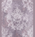 baroque classic damask pattern ornament vector image vector image