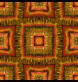 ethnic striped kaleidoscope background vector image vector image