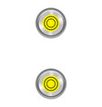 sign colon ruler icon cartoon style vector image