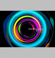beautiful colorful circle vector image vector image