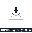Email icon flat vector image vector image