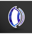 Eye icon vision view look see sight symbol vector image vector image
