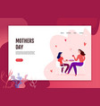 mothers day web banner vector image